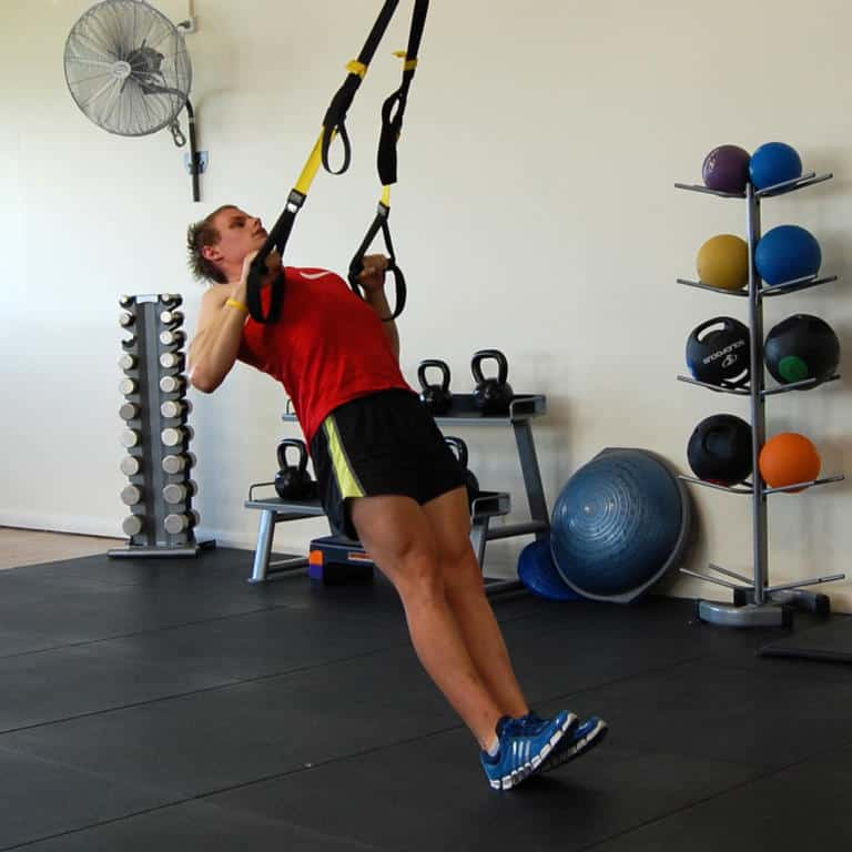 TRX Squat Row