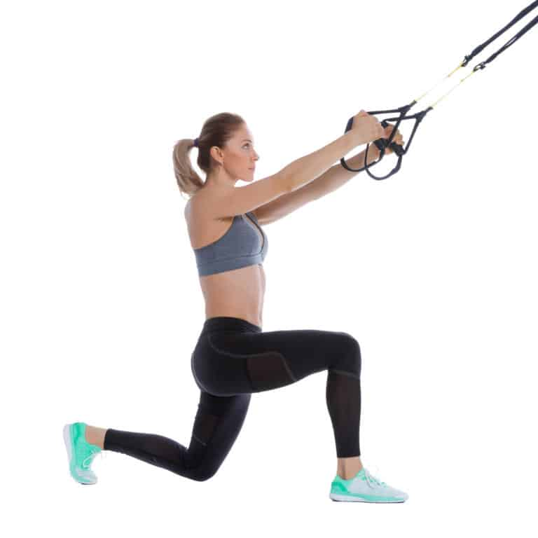 TRX Step Back Lunge
